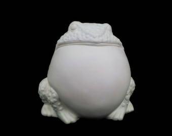 Puffed Frog