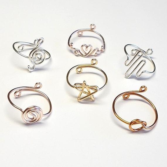 Ring Violinschlüssel Ring Musik-Ring verstellbarer Ring