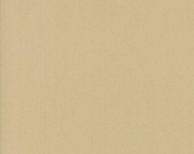 BELLA SOLIDS - Tan - Solid Blender Cotton Quilt Fabric - from Moda Fabrics - 9900-13 (W4392)