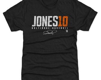Adam Jones Shirt | Baltimore Baseball | Men's Premium T Shirt | Adam Jones Jones10 W Wht