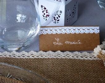 Kit brand places kraft & lace