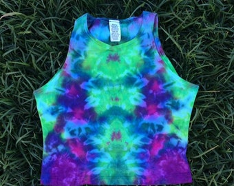 Hand Dyed Crop Top
