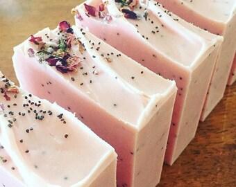Rose Geranium Handmade Soap