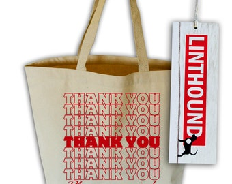 Thank You Canvas Tote Bag