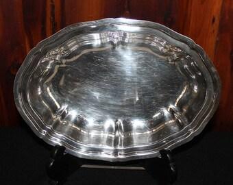 Wilcox International Silver Company Oval Bowl #69