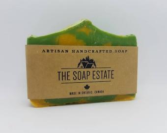 Lemon and Basil Soap