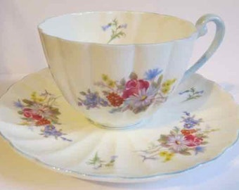 SALE PRICED! Delicate Shelley cup and saucer that a collector will love!