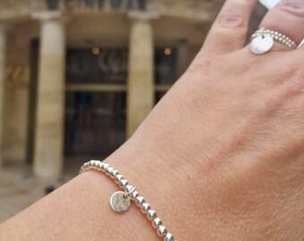 Bracelet Silver 925 bracelet tassel bracelet medal pendant fine jewelry delicate minimalist bracelet