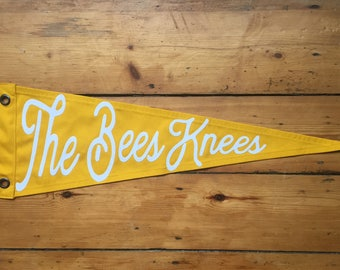 The Bees Knees Pennant Flag