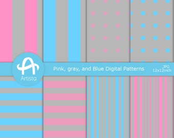 Digital Scrapbook ペーパー Download Digi Pattern Downloads