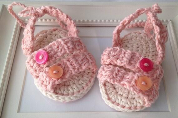 Crochet Patterncrochet Baby Sandals Pattern Crochet Baby Booties