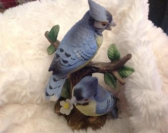 Lefton vintage blue bird  collection #02203