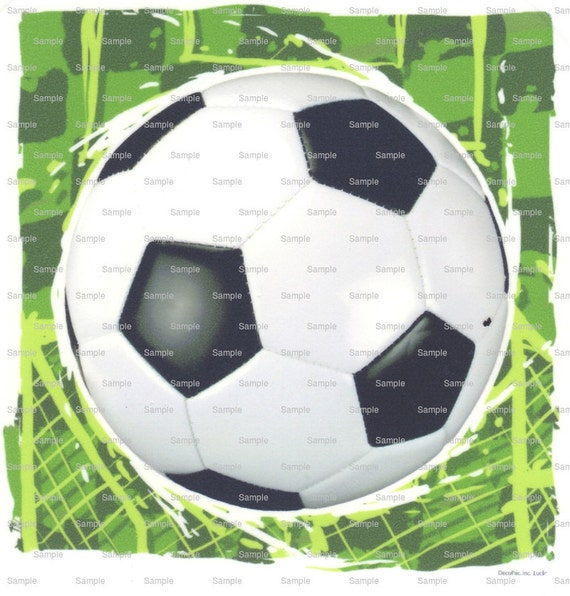 Soccer Ball - Edible Cake and Cupcake Topper For Birthday's and Parties! - D3179