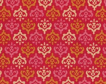 Heather Bailey • FRESHCUT Crest • rot • Cotton Fabric 0.54yd (0,5m) 001431