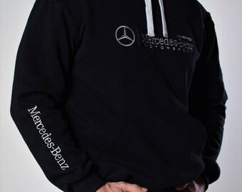 Hoodie Mercedes-Benz AMG Club Embroidery logos