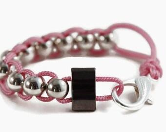 Pink Fidget Bracelet, Anxiety Bracelet, Fidget Jewelry, Anxiety Jewelry, Sensory Bracelet, Stim Jewelry, Autism Bracelet, Calming Jewelry
