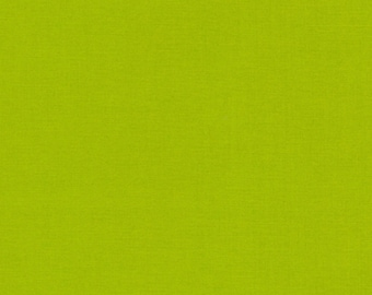 Robert Kaufman Kona Cotton 414 Peapod solid fabric 1 Yard