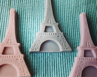 Eiffel tower favor soaps, Paris soap favors, Paris party favors, Paris party favro soaps, valentine's day favor soaps,vegan (10)