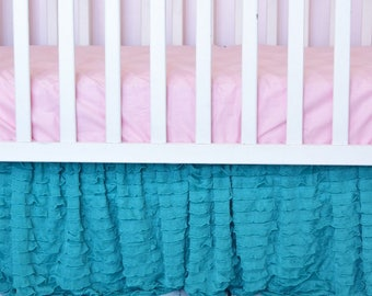 Mint Green Baby Girl Bedding Purple And Mint Modern Crib