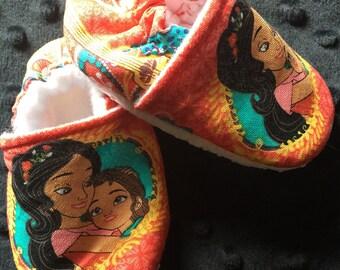 Elena of Avalor Crib Shoes