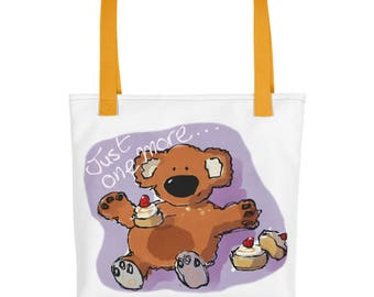 Just One More - Teddy Tote bag