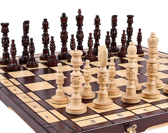 Hand crafted Chess set Galant