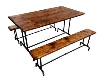 Industrial Kitchen Table