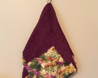 GRAPES RACHAEL RAY Inspired Pot Holder Towel for kitchen, cooking, baking, housewarming, birthday, gifts, holiday