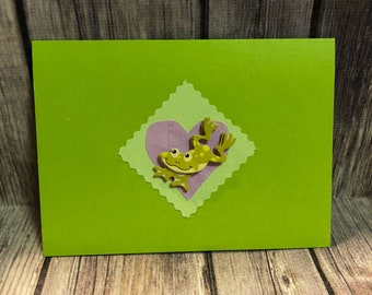 Froggy card