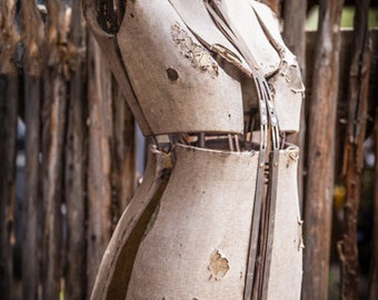 Old Dress Form - Sewing Form - Antique Dress Form - Judy