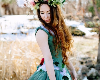 Nature Goddess Feather Headpiece