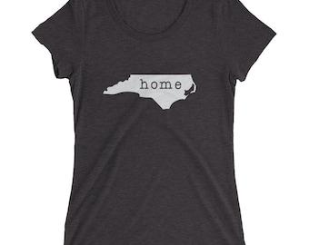 North Carolina Ladies' short sleeve t-shirt