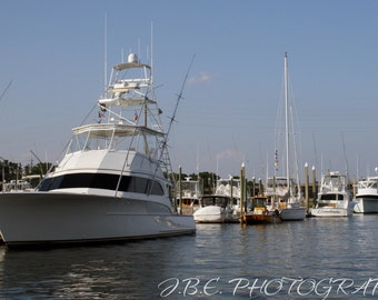 Marina   Photography   Photo Print   Wall Art   Home Decor   Boats   Water   Ocean   Intracoastal   Sail Boats