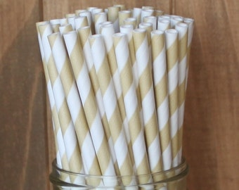 Gold Paper Straws, Gold Straws, Paper Straws, Gold Wedding Straws, Baby Shower, Bridal Shower, Cake Pop Sticks, Party Supplies, Birthday USA