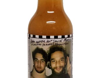 Safdie Brothers Hot Sauce | Limited Edition Charity Hot Sauce | Peach Habanero Hot Sauce
