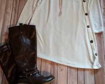 XL Ivory Sweater Dress