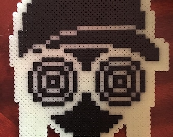 Rezz Head Perler with Glasses