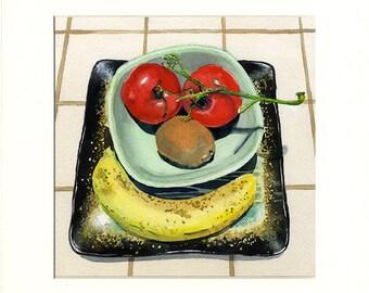 Happy Fruit 2 (Painting)