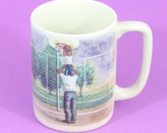 Otagiri Cup A Father is Someone to Look Up To Figi Graphics Ceramic Mug Japan