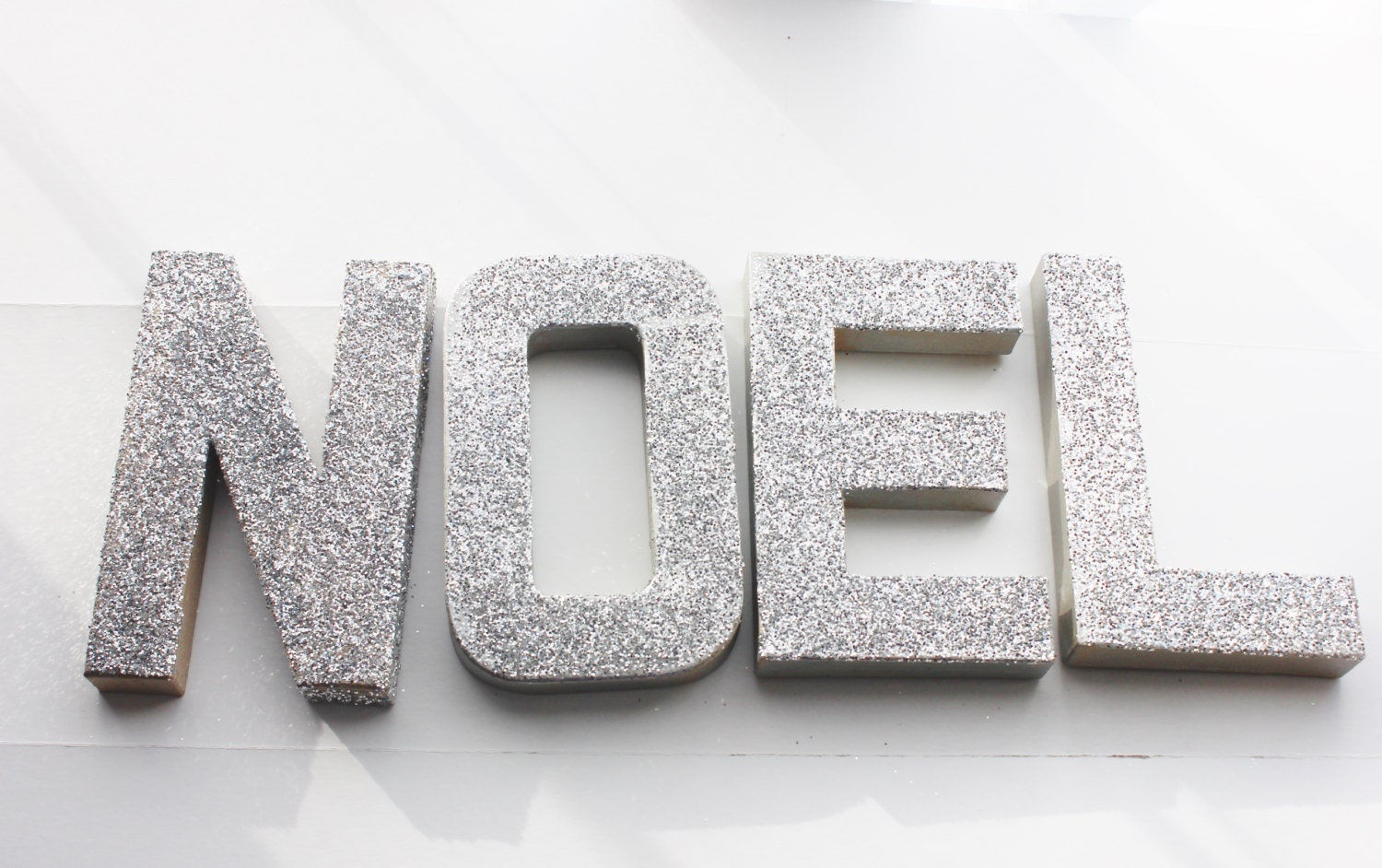 Metal Sign Letters For Sale Simple Sale Glitter Noel Sign Letters Gold Or Silver Paper Mache Inspiration Design