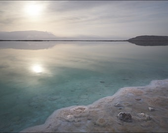 Sunrise at Dead Sea II - Color Photo Print - Fine Art Photography (IS11)