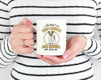 Jack Russell Terrier Who Loves Me Mug, Jack Russell Mug, Jack Russell Gifts, Jack Russell Lover, Jack Russell Terrier Mug, Jack Russell Cup