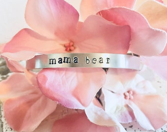 Hand Stamped Personalized Bracelets