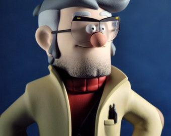 Gruncle Ford | Gravity falls | figurine Ford Pines