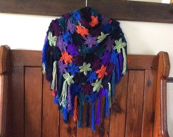 Flower power shawl/scarf