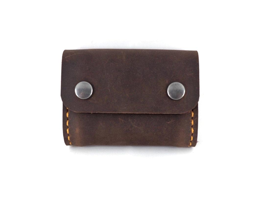 Handmade Leather Card Case Business Card Case Card Carrier