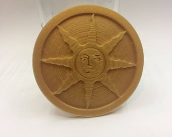 3D printed Dark Souls Sunlight medal- free shipping