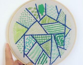 My Stitches - Hoop art