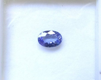 6x9mm Tanzanite Faceted Oval Gemstone, AAA Natural TANZANITE Oval Faceted super quality gemstone....