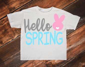 Easter bunny svg, Easter svg, Bunny svg, Hello spring svg, Spring svg, Spring flowers, Svg files, Easter, Easter monogram svg, Monogram svg